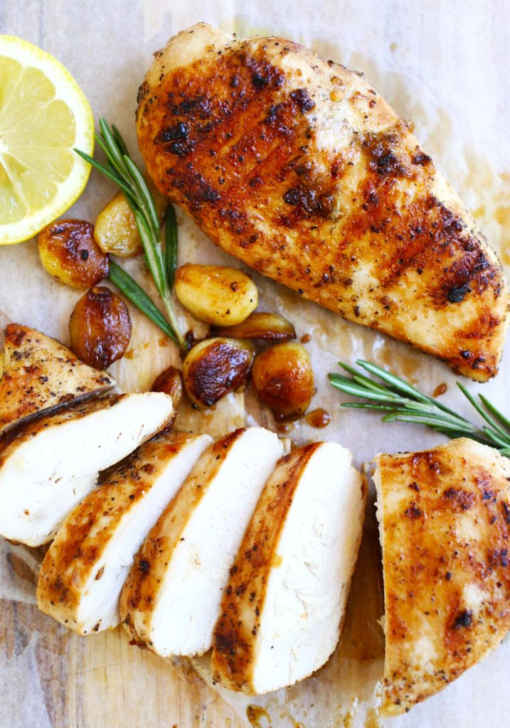 Garlic honey grilled chicken