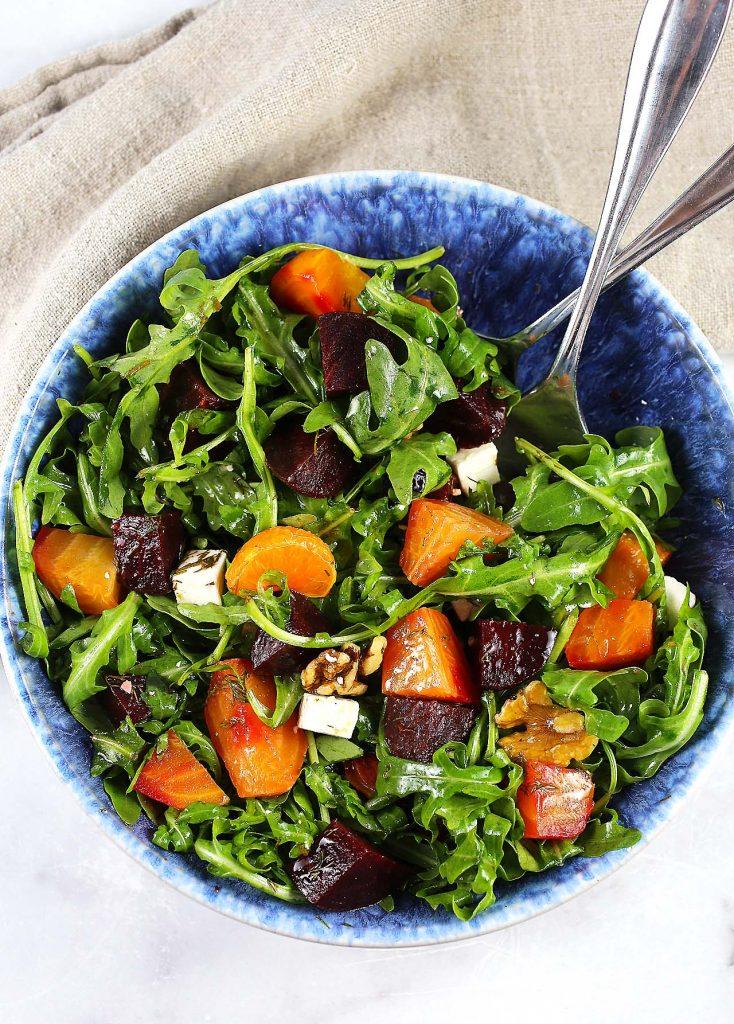 Beets arugula salad.