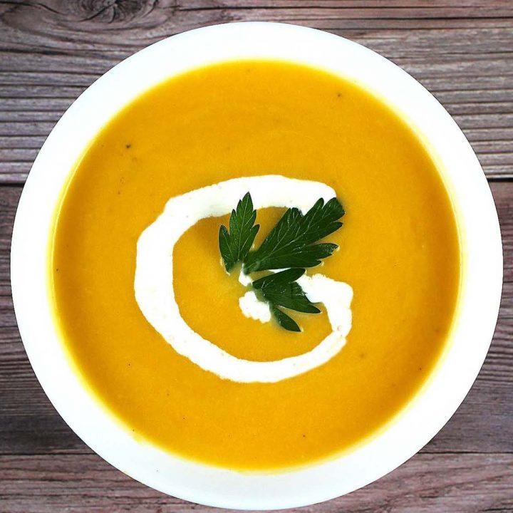 Butternut Cream Soup