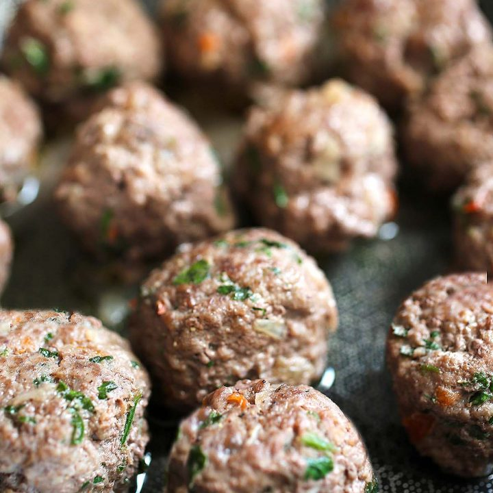Beef Meatballs with Herbs and Spices