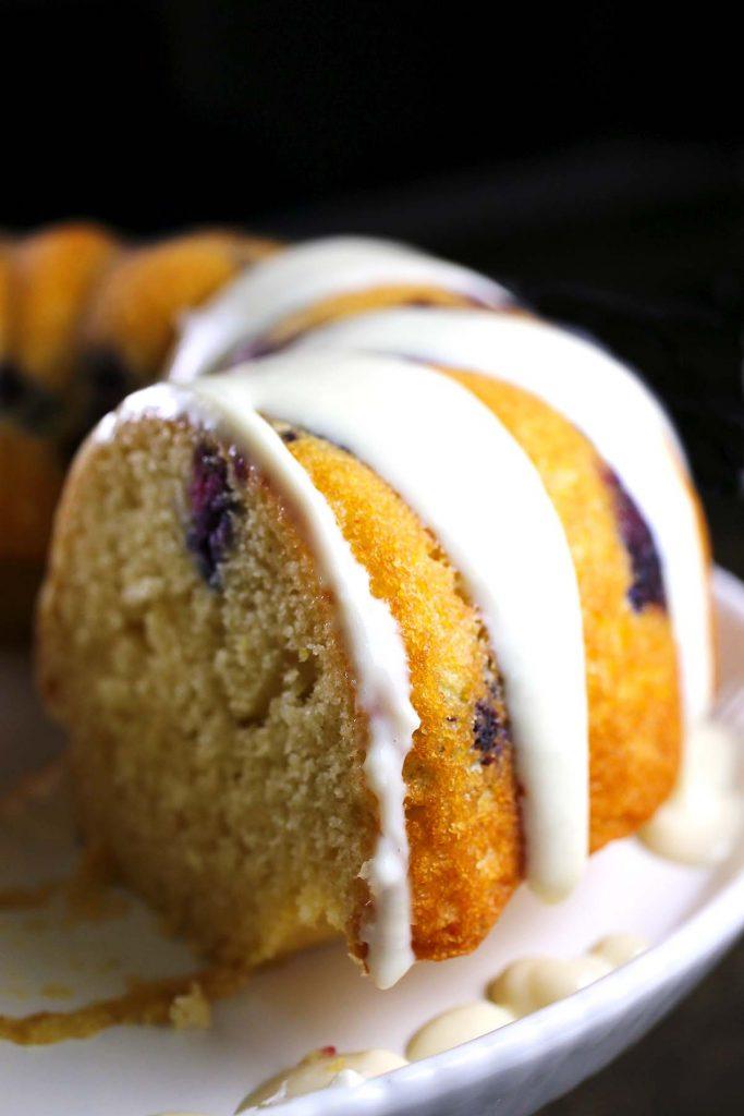 Cake close up.