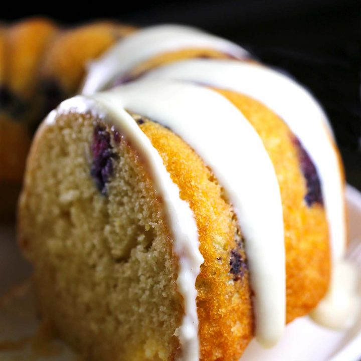 Lemon Blueberry Sauce