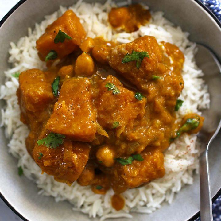 Pumpkin Spice Curry