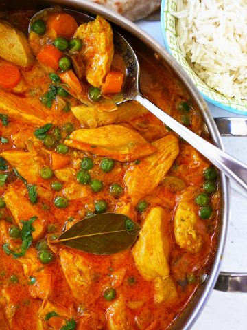 Chicken vegetable curry