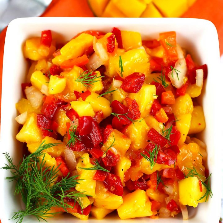 Mango and Ginger Salsa
