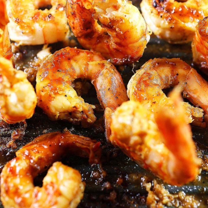 Spicy Honey Grilled Shrimp