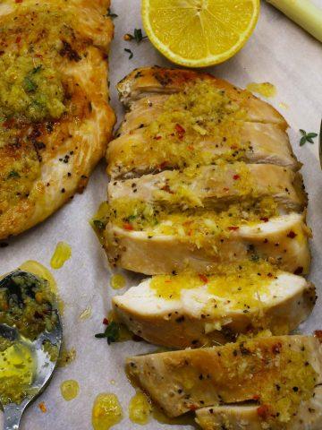 Lemongrass Honey Chicken